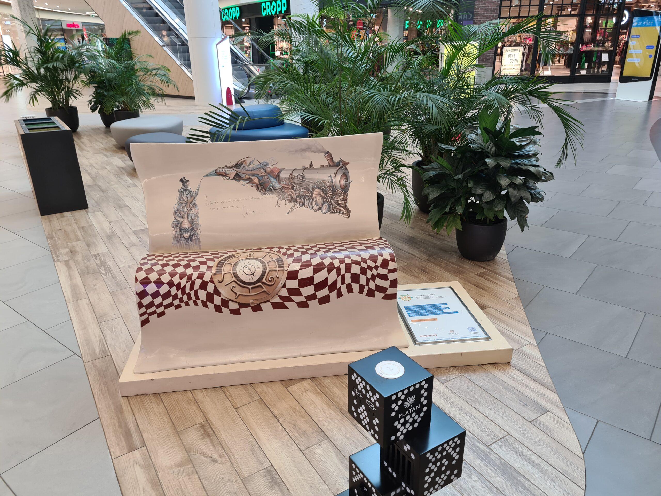Zaczytana Wystawa i bookcrossing w CH Platan w Zabrzu